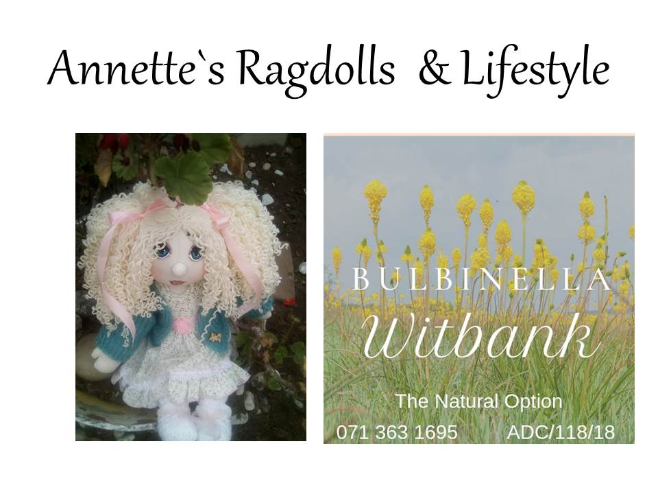 Rag Dolls, Natural Skin and Health Products